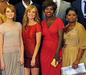 'The Help' Leads with Four SAG Awards Nominations
