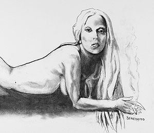 Lady Gaga Portrait by Tony Bennett to Be Auctioned