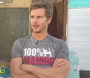 'True Blood's' Ryan Kwanten Gets Manly with Mambo