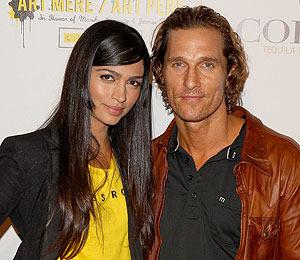 Matthew McConaughey is Engaged!