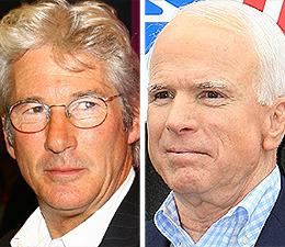 Richard Gere: John McCain is 'Not the Guy I Knew'