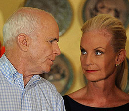A Little White Lie (About Age) for Cindy and John McCain