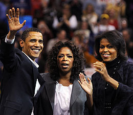 Oprah and Michelle Obama Rally for Women Voters