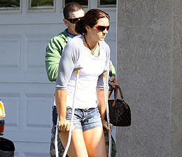 'Dancing' with Crutches