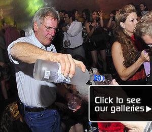 Harrison Ford Goes Solo Bartender