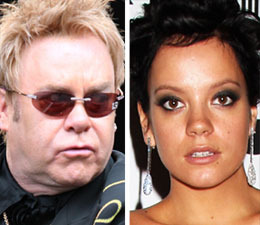 The Bitch is Back: Elton Owns Lily Allen!