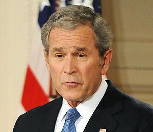 Obama: Skipping Out on Bush's Goodbye?