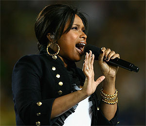 Super Bowl Producers Wanted Hudson to Lip-Synch