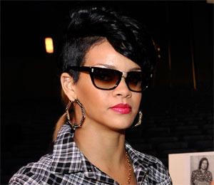 Rihanna Parties in Hollywood