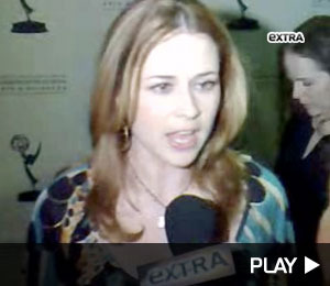 Jenna Fischer's Red Carpet Pout