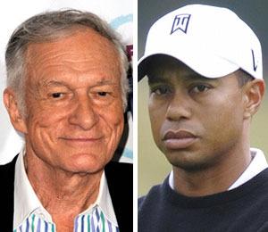 Hugh Hefner Not Surprised by Tiger Woods' 'Transgressions'