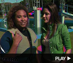 Tanika Crashes on 'Wipeout'