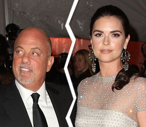 Billy Joel and Katie Lee Split