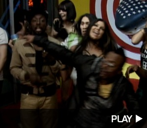 'Boom Boom' with Black Eyed Peas
