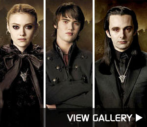 First Look! 'New Moon' Volturi