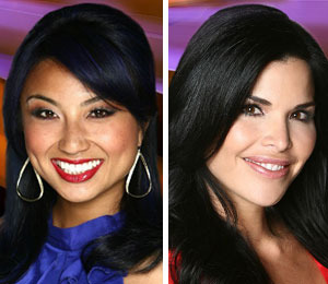Jeannie Mai and Lauren Sanchez Join 'Extra'
