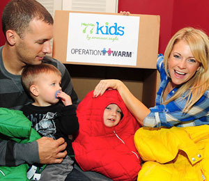 Melissa Joan Hart and Fam Have a Heart