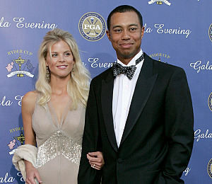 Pal Regrets Introducing Tiger Woods and Wife
