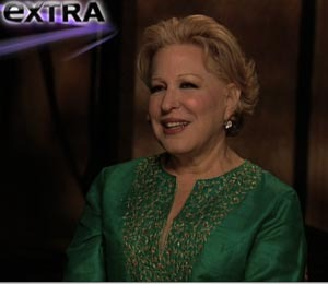 """""""Extra's"""" Rapid-Fire Quiz with Bette Midler"""