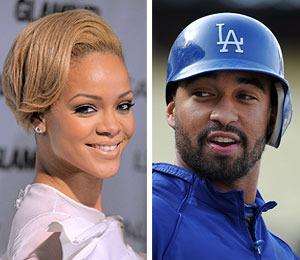 Rihanna 'Can't Keep Her Hands Off' Dodger Beau