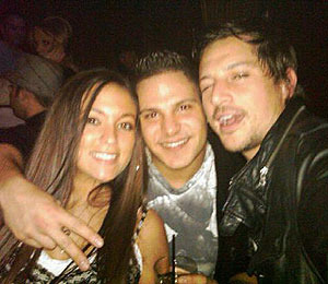 'Jersey Shore' Cast Parties with the Stars
