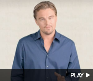 DiCaprio and Stars Unite for Clean Energy PSA