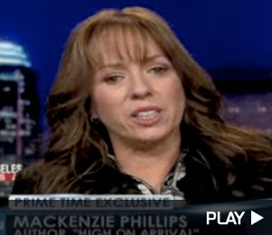 Mackenzie Phillips Says Sex with Father Wasn't Consensual