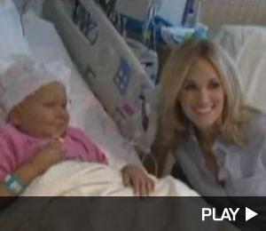 Carrie Underwood and Danny Gokey Visit St. Jude's Children's Hospital