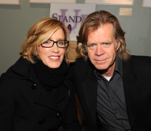 Felicity Huffman and William H. Macy Talk Love