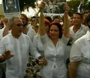 Gloria Estefan Leads Protest Against Cuban Government