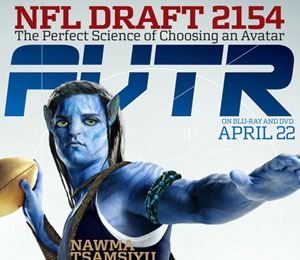 NFL Draft Pick Jimmy Clausen Transforms Into an Avatar