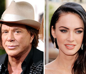 Mickey Rourke Respects Megan Fox