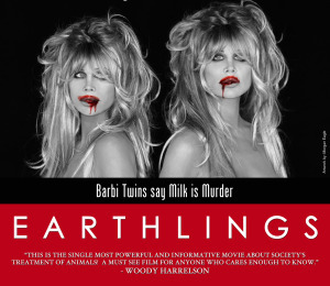 The Barbi Twins Make a Bold Statement for Animal Rights