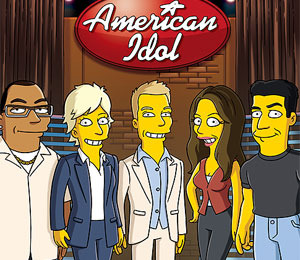 'Idol' Judges to Guest Star on 'Simpsons' Finale