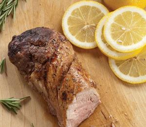 """""""Extra Lean's"""" Recipe for Lemon and Herb Pork Tenderloin"""