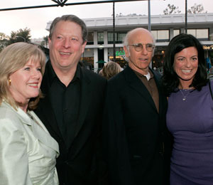 Laurie David's Rep: Al Gore Affair Report 'Totally Untrue'