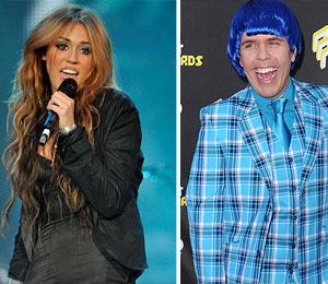 Perez Hilton's Miley Cyrus Pic -- Was It Kiddie Porn?