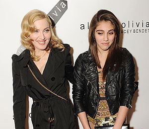 Madonna and Lourdes Launch 'Material Girl' Line