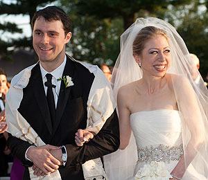 Celebs Congratulate Chelsea Clinton