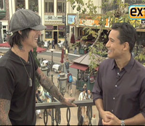 Tommy Lee Advises Mario Lopez