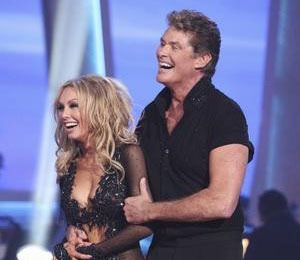 'DWTS' Cast Talks to 'Extra' About Hoff Booted Off