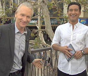 'Extra' Raw! Bill Maher at The Grove