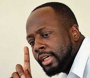 Wyclef Jean Hospitalized for 'Stress'