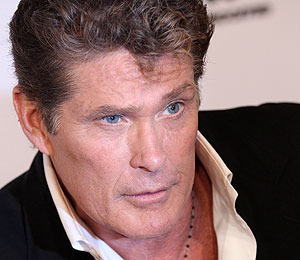 The Hoff Provides Some Fun for L.A. Commuters