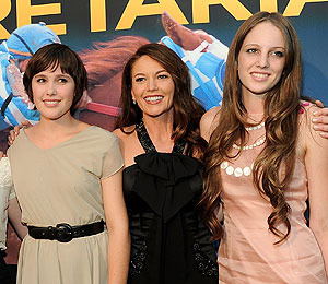 It's Family Night Out for Diane Lane