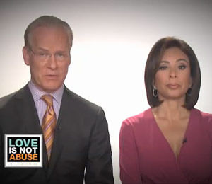 Judge Pirro and Tim Gunn Speak Out Against Domestic Violence