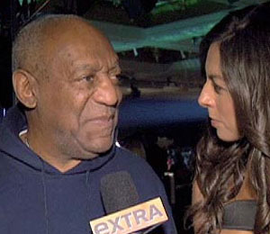 'Extra' Raw! Bill Cosby at the Andre Agassi Benefit