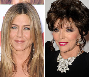 Jennifer Aniston Won't Bitch-Slap Joan Collins