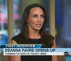 Deanna Favre: 'Faith Will Get Me Through This'