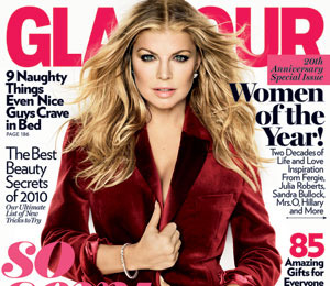 Fergie is Glamour's Woman of the Year